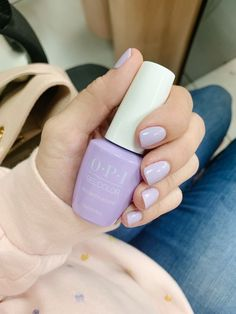 OPI Polly Wants a Lacquer – cute nails - LastStepPin Opi Gel Nails, Opi Gel Polish, Purple Nail Polish, Gel Nails At Home, Gel Polish Colors, Nail Polish Designs, Opi Gel Nail Colors, Opi Colors, Nail Designs