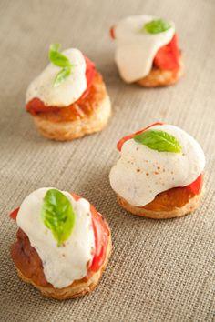 Paula Deen Tomato and Mozzarella Tarts