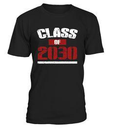 Class Of 2030 shirt Kindergarten Pre  Funny class of 2030 T-shirt, Best class of 2030 T-shirt