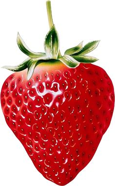 Natural Strawberry Clipart