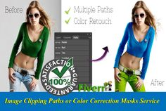 do clipping paths,Mask,color correction background remove by likeguru