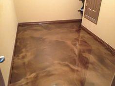 Interior Epoxy Over Concrete Floor