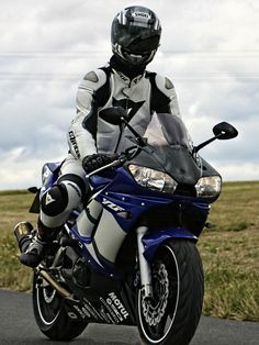 Sexy biker boy