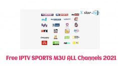 BEST FREE IPTV SPORTS M3U LIST Friday 26/09/2021