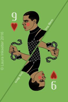Game of Thrones Playing Cards - 9 of Hearts (Grey Worm) Dessin Game Of Thrones, Game Of Thrones Cards, Hbo Game Of Thrones, Familia Targaryen, Jaqen H Ghar, Game Of Throne Actors, Game Of Thones, Joker Card, I Love Games