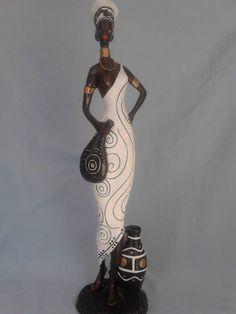 afric American Art, African, Afro Art, African Sculptures, Tribal Art, African American Figures, Human Figure, Art, African Figurines