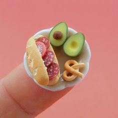 Glup.us: Comida en miniatura