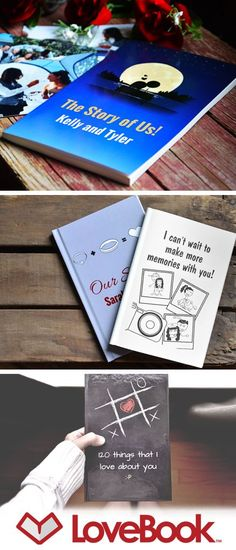 An adorable gift idea that lets you say exactly why you love him. Author your own personalized book of love reasons. Each pages lists a different reason and is illustrated with your characters. Guaranteed laughter and tears.: