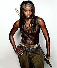 """The Walking Dead - EW character portraits"" Michonne"