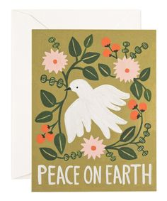 Take a look at this 'Peace on Earth' Stationery Set on zulily today!