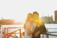 Engagement Photo Shoot | Sunset | NYC Brooklyn Wedding Photographer