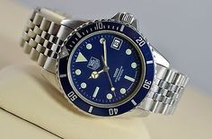 MENS TAG HEUER 1000 SUBMARINER  My First Tag