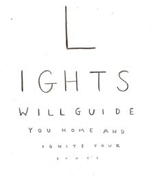 Lights by Coldplay