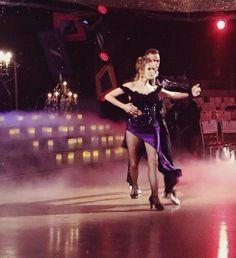 Artem & Lea Thompson - Dancing With the Stars - Season 19 - Week 7 Halloween week dress rehearsal - fall 2014
