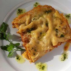 Lasagnetta vegana | cucina vegana | ricette vegane | Hotel Luxor