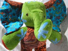 Home Decor ELEPHANT Geckos de Luxe  Luxury by TALLhappyCOLORS