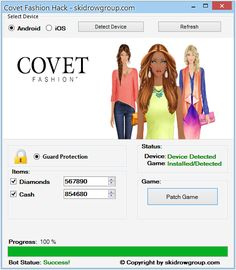Covet Fashion Hack Hello, I want to introduce you Cheats for Covet Fashion. Covet Fashion Hack Tool is another program that will empower you to 2018 Covet Fashion Cheats, Covet Fashion Hack, Covet Fashion Games, App Hack, You Cheated, Gaming Tips, How To Get Money, Teeth Whitening, Cheating