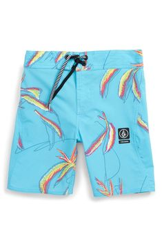 Volcom Big Boys Peace Tie Dyed Mod 18 Boardshort