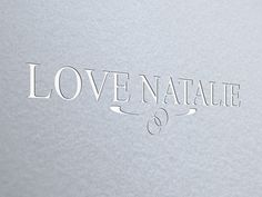 Logo design for Love Natalie Jewellery.