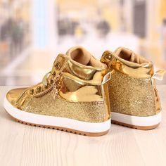 Ghete Dama Blaxy Sidex Aurii Cod: 880 Baby Shoes, Clothes, Fashion, Outfits, Moda, Clothing, Fashion Styles, Baby Boy Shoes, Kleding