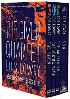 Amazon.com: The Giver Quartet boxed set (9780544340626): Lois Lowry: Books