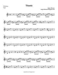 AnaProfeMusic: Partitura BSO TITANIC