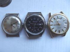 Mycket 5 Vintage armbandsur Jean Perret, Waltham, Timex, skörd tre kör   eBay