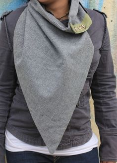 Triangle Scarf I need someone who can sew!