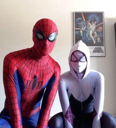 Spider-man Spider-Gwen cosplay