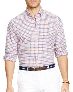 Polo Ralph Lauren Checked Oxford Button Down Shirt - Slim Fit