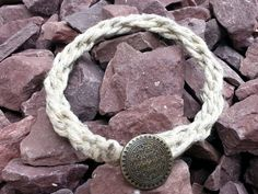 Check out this item in my Etsy shop https://www.etsy.com/listing/236026174/hemp-bracelet-rope-bracelet-mens