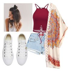 """Untitled #203"" by emh0401 ❤ liked on Polyvore featuring Converse and Theodora & Callum"