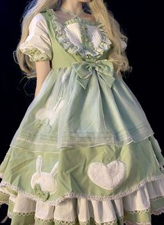 Harajuku Fashion, Kawaii Fashion, Lolita Fashion, Cute Fashion, Cute Casual Outfits, Pretty Outfits, Pretty Dresses, Beautiful Outfits, Kawaii Dress