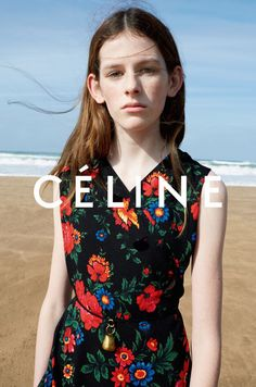 Freya Lawrence, Joan Didion, Marie-Agnes Gillot by Juergen Teller for Celine Spring Summer 2015 1