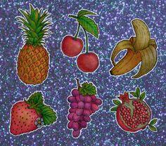 Fruity stickers