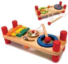 Musikstation für Kinder ab 19 Monaten mit 7 Instrumenten für die Kleinen