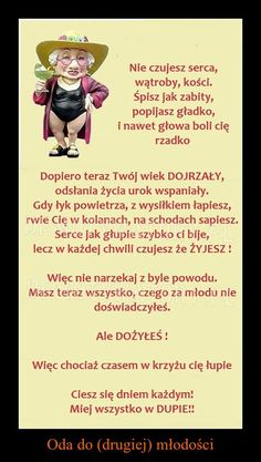 Oda do (drugiej) młodości... Birthday Card Puns, Birthday Cards For Brother, Diy Birthday Banner, Birthday Presents For Mom, Presents For Best Friends, Humor Birthday, 50 Birthday, Birthday Recipes, Birthday Parties