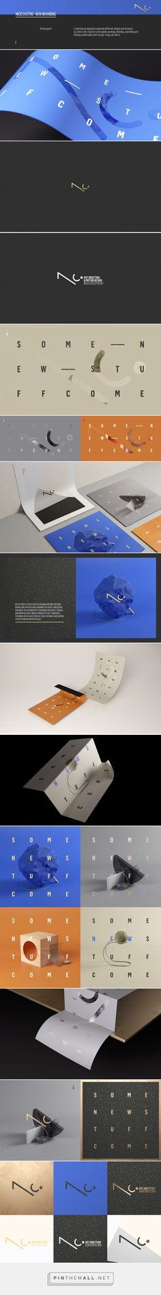 Nico Castro - New Branding on Behance... - a grouped images picture - Pin Them All