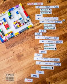 Level 4 of Coding a LEGO Maze I love this idea! Is there anything you can't do with LEGO? Lego Coding, Computer Coding, Computer Science, Science Projects For Kids, Stem Projects, Lego Projects, Lego Maze, Steam Learning, Computational Thinking