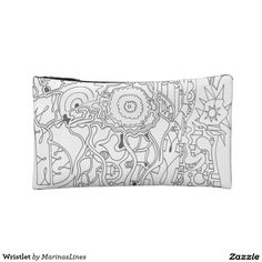 Keep your lipstick & eyeliner safe with a new Wristlet cosmetic bags from Zazzle. Unrivaled designs transform these makeup bags. Cosmetic & Toiletry Bags, Eyeliner, My Design, Lipstick, Tapestry, Cosmetics, Makeup, Hanging Tapestry, Tapestries