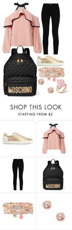 """piper 1"" by hannah-graves ❤ liked on Polyvore featuring Alexis, STELLA McCARTNEY, Moschino, Accessorize and claire's"