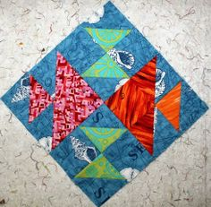 Old Fish Puzzle Block Tutorial: 52 Twisted Traditional Block Quilt Along