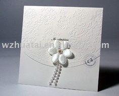 tarjeta de papel de la invitación de la boda - spanish.alibaba.com
