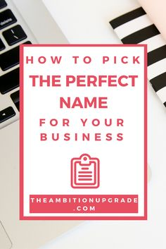 Chic entrepreneurs want everything to be reflective of their personality & style, including their business & brand. Get the top tips for your perf biz name.