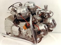 Ducati Apollo motor. Over 100 hp, in the 1960's ! Unfortunately, never went to production.
