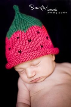 to replace the original? Boston Beanies Strawberry Hat Knit Cotton Baby by BostonBeanies, $25.00