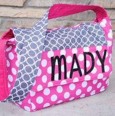 Personalized Kids Messenger Bag Tutorial