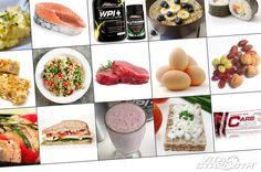 A high-protein diet is often recommended by bodybuilders and nutritionists to help efforts to build muscle and lose fat. Protein Diets, High Protein Recipes, Paleo Protein Powder, Mindless Eating, Vegan Vitamins, Low Carbohydrate Diet, Muscle Building Workouts, Unprocessed Food, Food Journal
