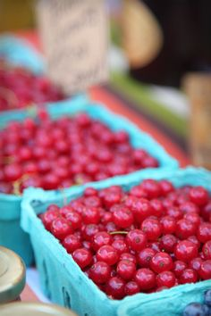 currants...only out west would people be obsessed with different berries..