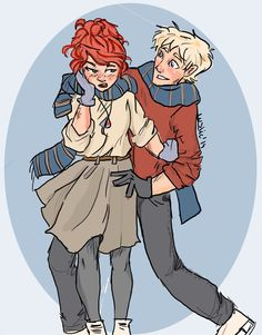 Harry Potter - Scorpius Malfoy x Rose Weasley - Scorose